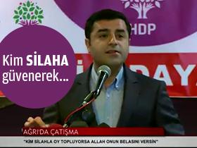 Demirta�'tan PKK, HDP ve YDG-H'ye Beddua