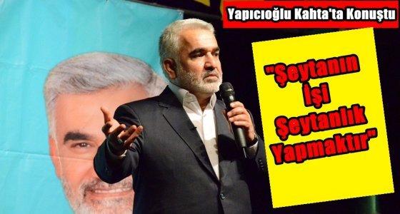 Yapıcıoğlu'ndan Hükümete can alıcı soru