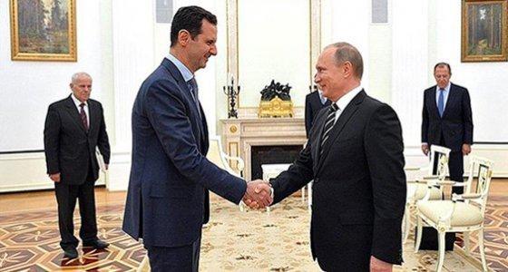 Esad ile Putin bir araya geldi