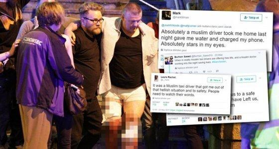 İngilizlerden Müslüman şoförlere teşekkür