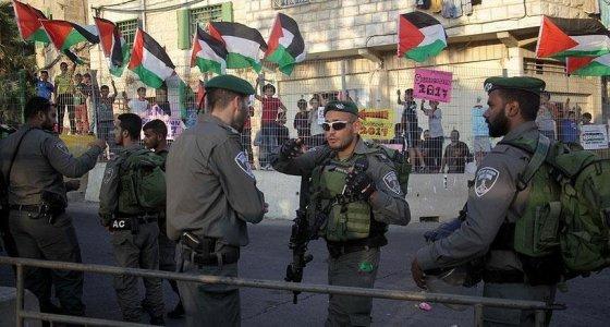 Filistinliler, Pence'in ziyaretini protesto etti