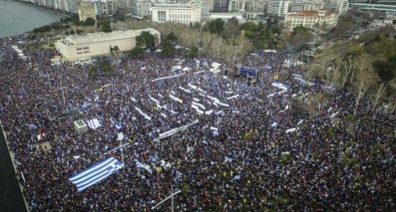 Yunanistan'da isim gelirimi! On binler sokaklarda