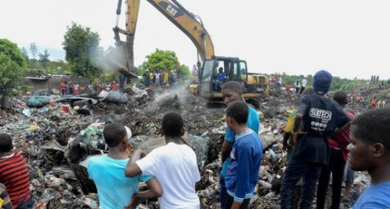 Mozambik'te çöp toplama merkezinde göçük: 17 ölü