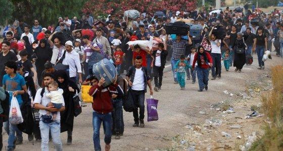 Dünyada 70,8 milyon insan yerinden edildi