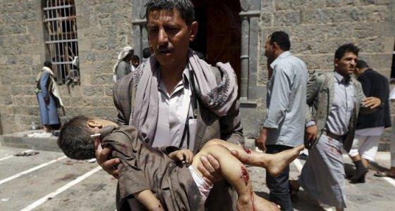 Suud saldırılarının sürdüğü Yemen'de 91 bin kişi hayatını kaybetti