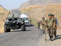 PKK Mezarl���na Bu Sefer M�dahale Edildi