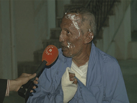 Father of kidnapped boy by PKK burnt himself