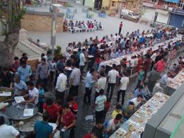 H�DA PAR�dan Maz�da��nda iftar program�