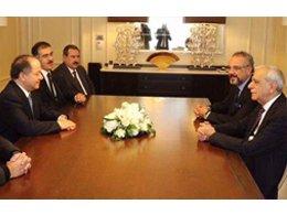 Ahmet Türk, Barzani ile görüştü