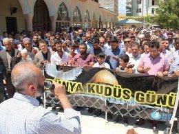 'Kudüs yine sahipsiz yine mahzundur'