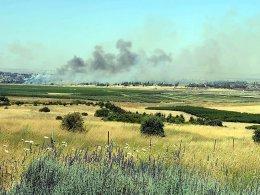 İsrail Suriye'yi ikinci kez vurdu
