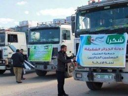 Gazze'ye giden yardım tırlarına, Mısır'dan engel