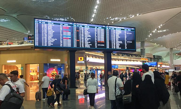 Türkiye Havalimanlarında 'uçuş kaçırma' derdi sona eriyor