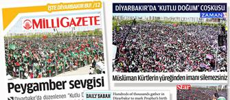 Umeyye... �yi bak, buras� Diyarbak�r!