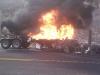 Antep'te yakıt tankeri patladı