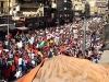 Binlerce ki�i �srail anla�mas�n� protesto etti